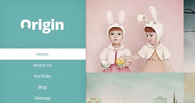Origin - новая, креативная тема от ElegantThemes