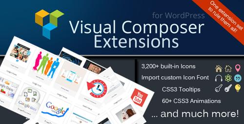 Visual Composer - дополнения