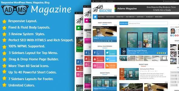 ThemeForest - лучшие WordPress темы октября 2013