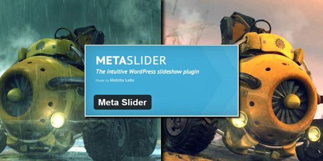 Слайдер для WordPress - Meta Slider