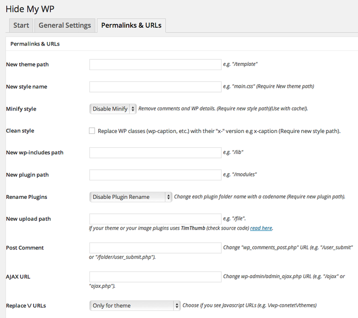 Как скрыть WordPress с плагином Hide My WP?