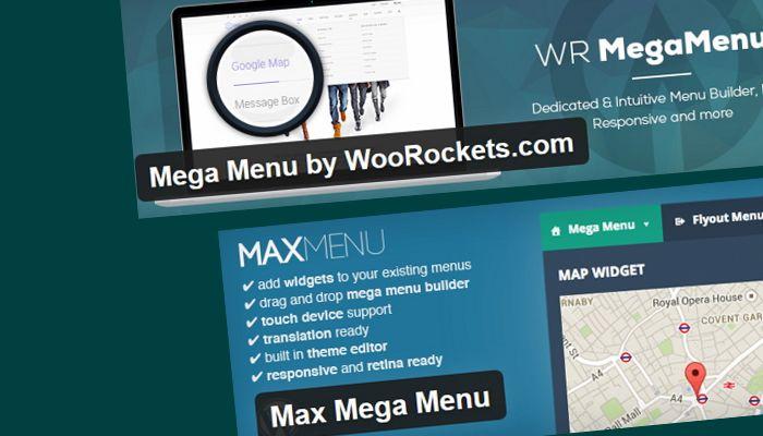 Бесплатное Мега Меню на вашем сайте
