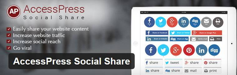 AccessPress Social Share