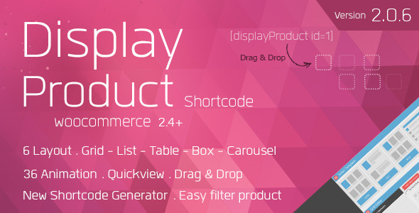 Display Product - Multi-Layout