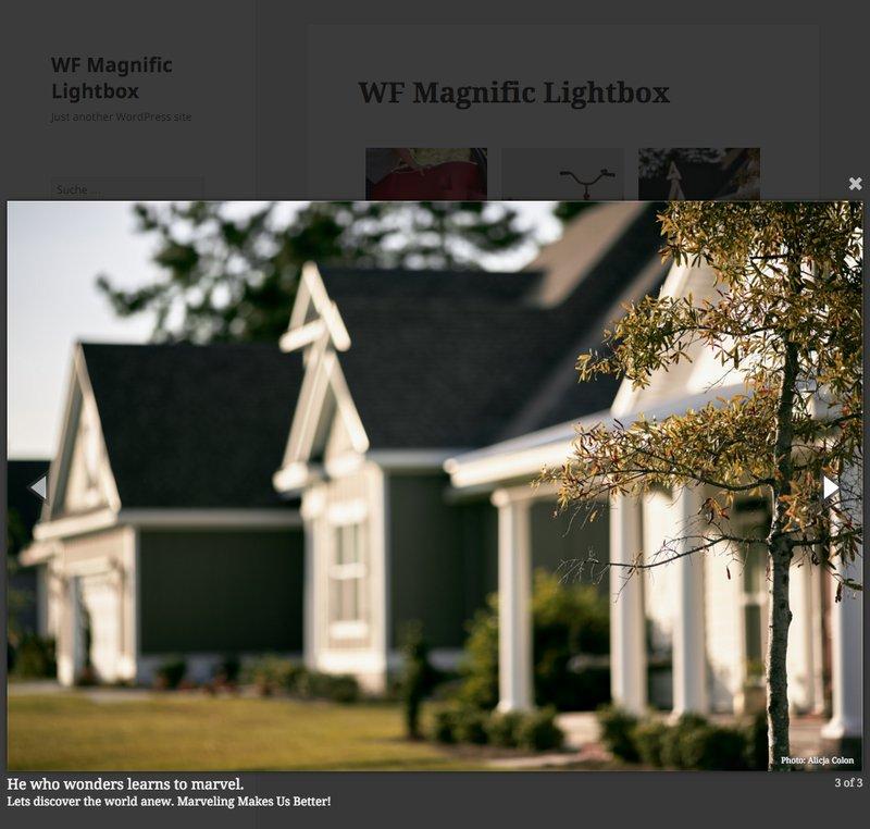 WF Magnific Lightbox