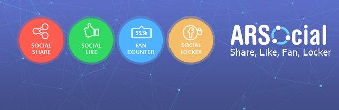 Social Share And Social Locker - ARSocial