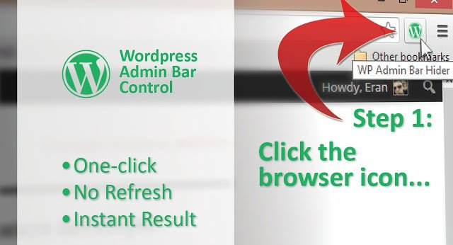 WordPress Admin Bar Control