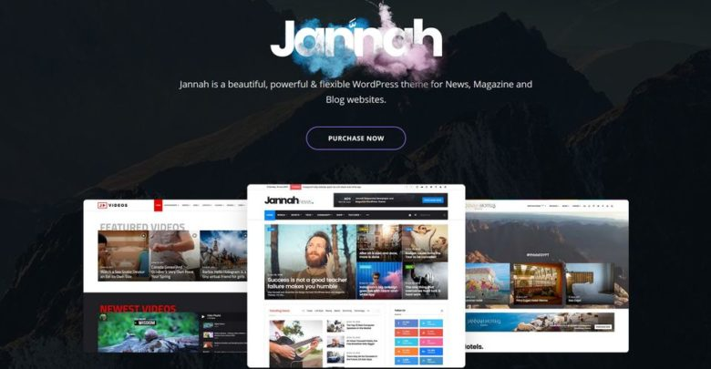 Jannah - новая супер тема от TieLabs