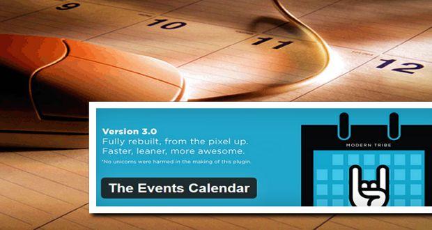 The Events Calendar - ваш планировщик событий