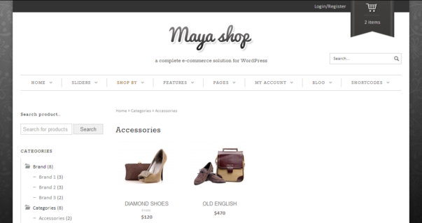 MayaShop Theme
