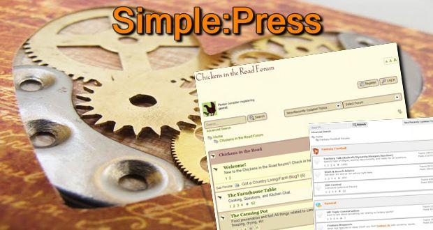 Simple:Press - создаем свою тему
