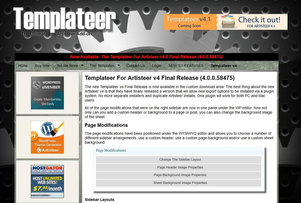 Artisteer - инстумент для создания шаблонов
