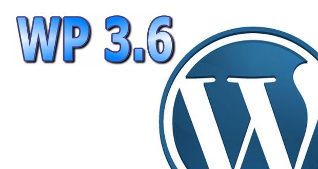 WordPress 3.6 - что ожидать?