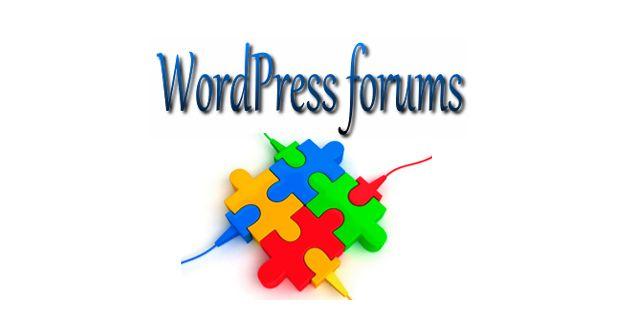 Форумы для WordPress - новости и обновления