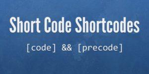 Shortcodes - что это и как использовать?