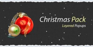 Christmas Pack for Layered Popups