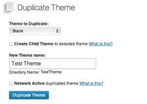 Duplicate Theme