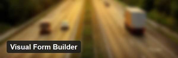 Visual Form Builder - Форма обратной связи - восемь лучших WP плагинов