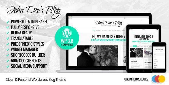John Doe's Blog_1