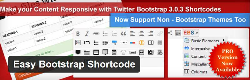 Easy Boostrap Shortcodes