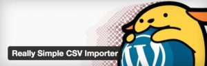 Really Simple CSV Importer