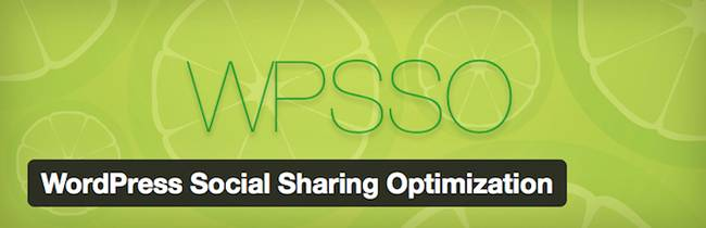 WordPress Social Sharing Optimization