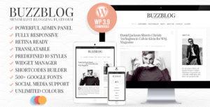 BuzzBlog - красивый и функциональный блог
