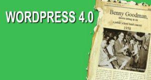 WordPress 4.0 доступен для обновления!