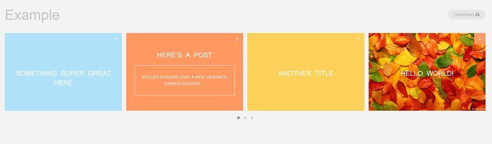 Post Slides