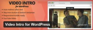 Video Intro for WordPress