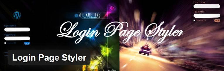 Login Page Styler