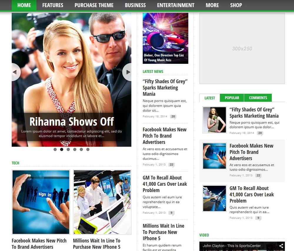 Wordpress сделать новостной сайт как сделать просмотр изображений на сайте
