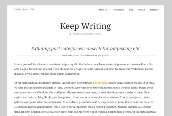 KeepWriting