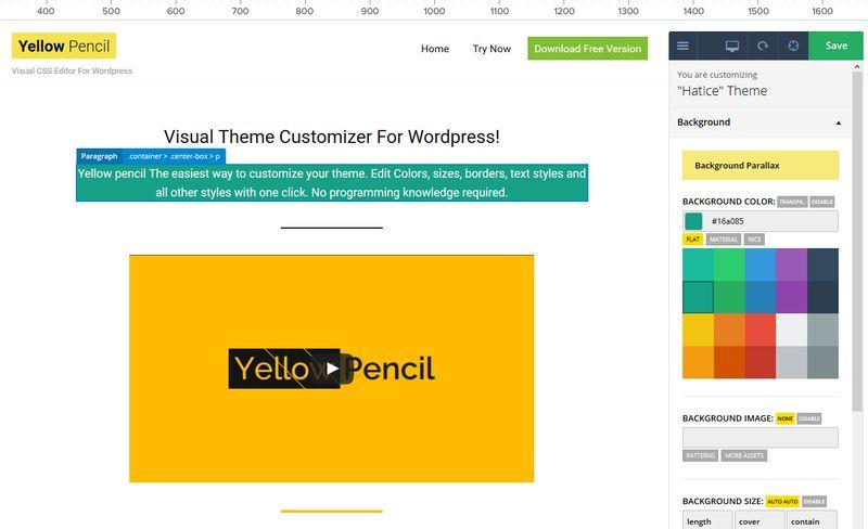 Simple Visual Customizer