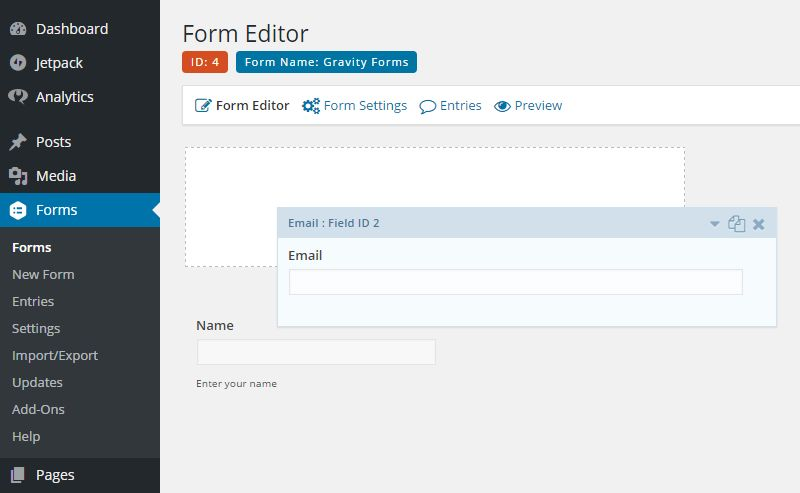 Form Builder User Interface Comparison 3