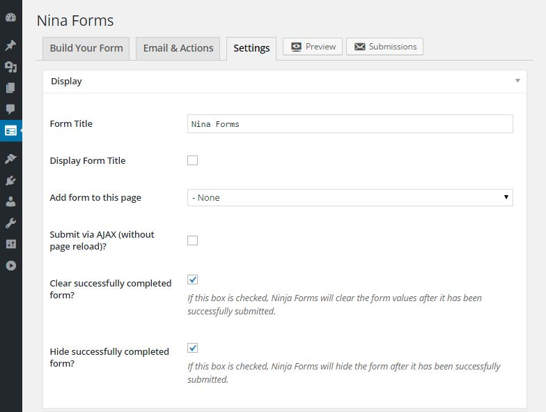 Form Builder User Interface Comparison 7