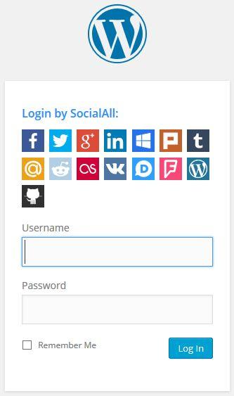 SocialAll - Social Login