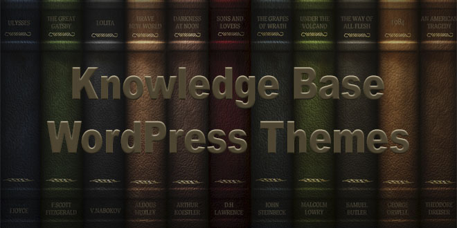 WordPress темы для создания баз знаний и онлайн помощи
