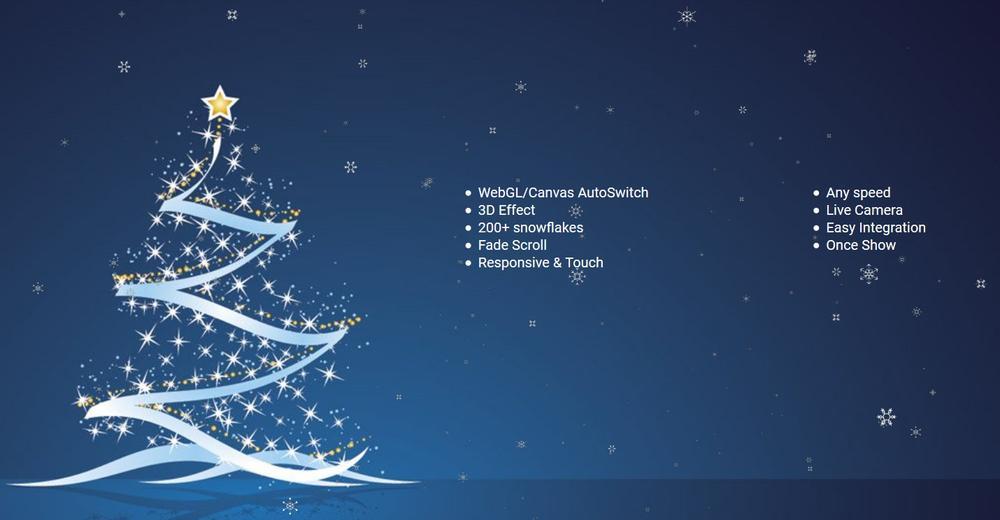 Snow 3D - Christmas