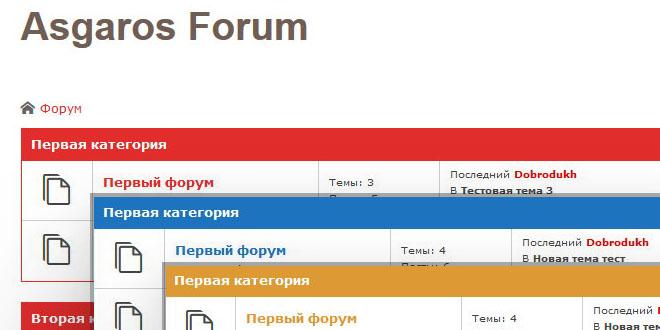 Asgaros - новый, бесплатный форум для WordPress