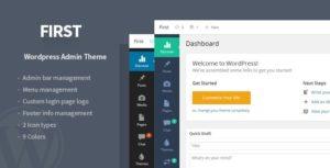 First - WordPress Admin Theme