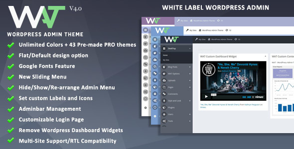 WordPress Admin Theme