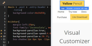 Yellow Pencil Visual Customizer for WordPress