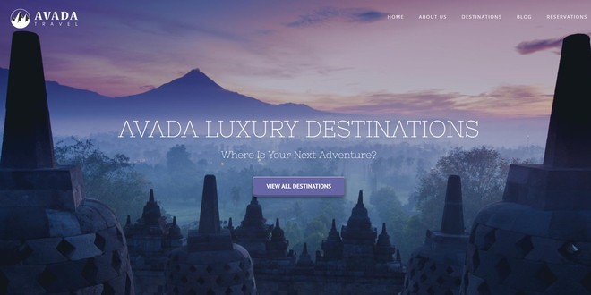 Avada - премиум тема которой любой сайт по плечу