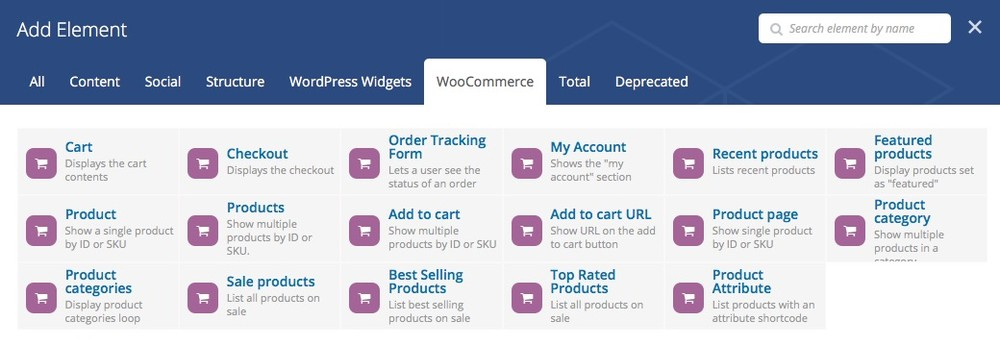 woocommerce-elements