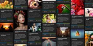 Лучшие WordPress темы в стиле Masonry в 2016 году