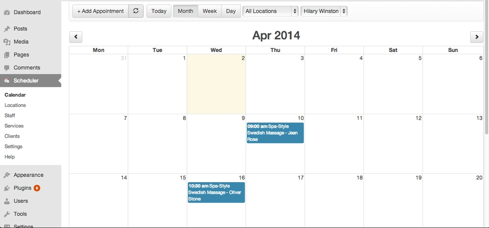 appointment-booking-calendar