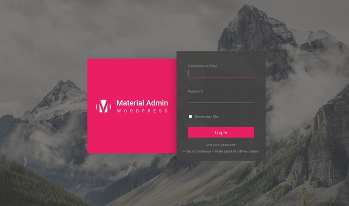 material-admin-login-screen