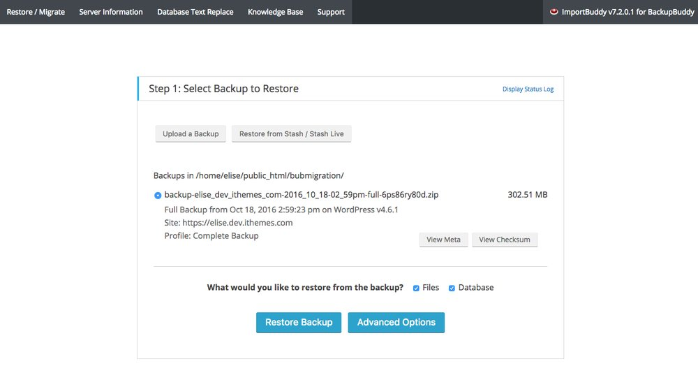 move-a-wordpress-site-select-backup