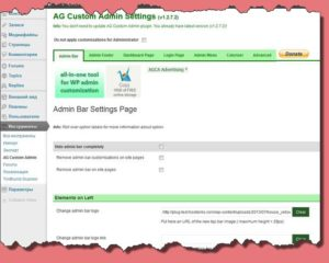 AG Custom Admin 1